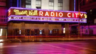 Radio City Music Hall.