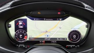 Audi TTS 2015 navegador