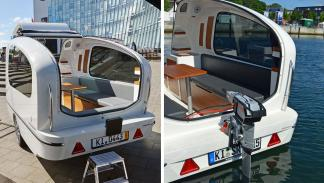 Caravana flotante 'Sealander'