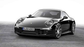 Porsche 911 Black Edition tres cuartos delanteros