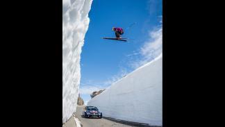 el esquiador Aksel Lund Svindal y el piloto Andreas Mikkelsen.