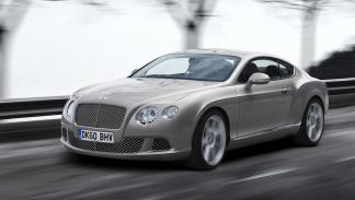 10 coches preferidos futbolistas Reino Unido Bentley Continental GT
