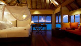mejores hoteles del mundo Gili Lankanfushi Maldives habitación