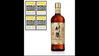 Whisky Nikka Taketsuru de 21 años
