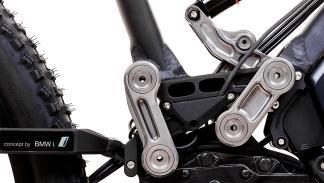 Brazo basculante bicicletas eléctricas BMW