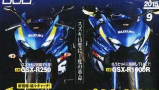 Suzuki GSXR 2016. Los dos modelos.