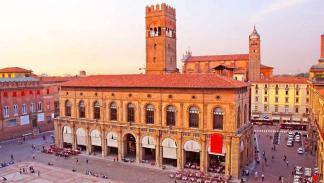 Palacio del Podestà, en Bolonia