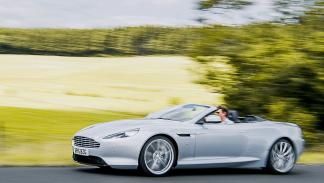 Prueba: Aston Martin DB9 GT Roadster. Un cabrio para soñar lateral