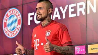 Arturo Vidal no conducirá en Múnich (de momento). Rueda de prensa Bayern.