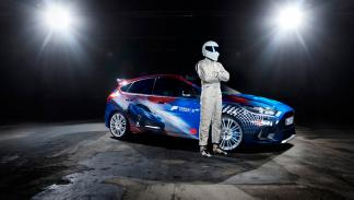 Ford Focus RS con diseño exclusivo para la Gamescom pilotado por The Stig