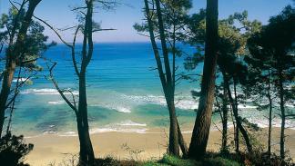 Playa de Oleiros.