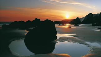 Playa de Serantes.