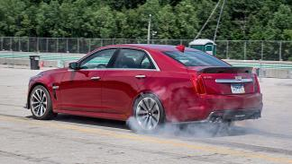 Prueba: Cadillac CTS-V zaga