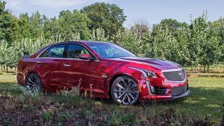 Prueba: Cadillac CTS-V estática