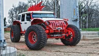 Jeep Wrangler salvaje fab fours frontal