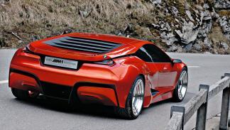 """En el Concorso d'Eleganza de 2008, BMW presentó el prototipo """"M1 Hommage Car""""."""