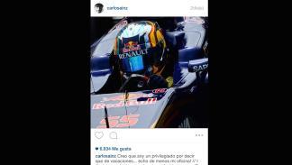 Carlos Sainz Instagram Toro Rosso