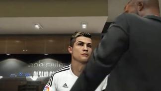 Cristiano Ronaldo en la peluquería en GTA V