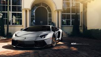 Lamborghini Aventador Novitec ADV1 frontal