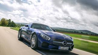 AMG GT S dinámica
