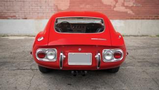 Subasta Toyota 2000GT de 1967 trasera
