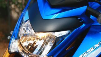 Suzuki GSX-S1000 tiene un frontal muy agresivo.