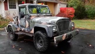 Jeep CJ-10 delantera