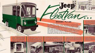 Jeep FJ Fleetvan delantera