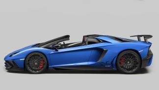 Lamborghini Aventador SV Roadster lateral