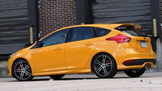 Ford Focus ST Performance trasera