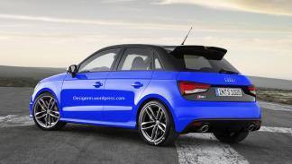 Audi RS1 trasera