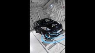 Sistema de alerta para peatones de Nissan 1