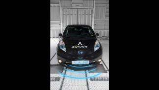 Sistema de alerta para peatones de Nissan 2