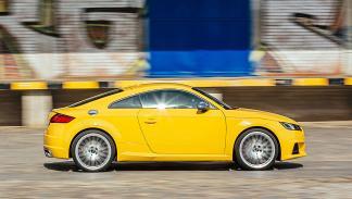 Audi TTS barrido