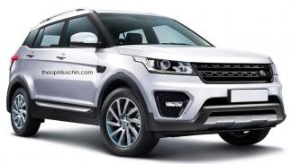 Land Rover acceso gama frontal