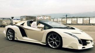 Lamborghini Veneno Roadster regalo