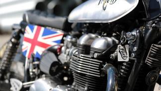 Triumph Thruxton Triten. Motor.