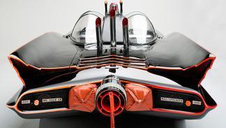 Batmóvil 1966 trasera