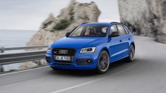 Audi SQ5 TDI Plus dinamica delantera