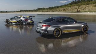Mercedes C63 AMG DTM 2016 y Mercedes C63 AMG Coupé Edition 1
