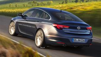 Opel Insignia 2017 trasera