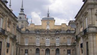 Palacio Real y jardines de San Ildefonso.