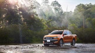 Ford Ranger para Europa tres cuartos