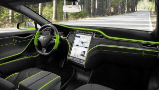 Mansory Tesla Model S interior