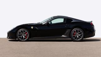Ferrari 599 GTO negro 2