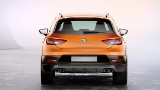 Seat León Cross Sport trasera
