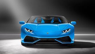 Lamborghini Huracán Spyder frontal