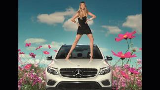 Doutzen Kroes y Mercedes-Benz 2