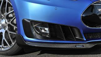 Tesla Model S de Brabus alerón