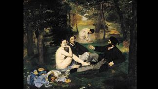 Manet, Almuerzo sobre la hierba (1863)